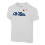 NIKE TODDLER CORE SS OM TEE WHITE