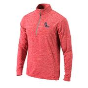 OMNI WHICK POWER FADE PULLOVER RED