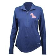 OM SMU CHARGED COTTON QTR ZIP 190