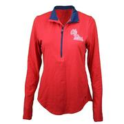 OM SMU CHARGED COTTON QTR ZIP URN