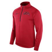 OLE MISS LIGHT BENCH HALF ZIP