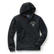 OM VINEYARD HOODED HENLEY NAVY