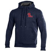 THREADBORN FLEECE QTR ZIP HOOD