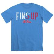 SS OLE MISS FINS UP TEE ROYAL