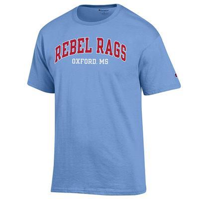 REBEL RAGS SS TEES LIGHT_BLUE