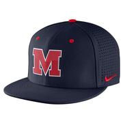 NIKE M AEROBILL FITTED CAP NAVY