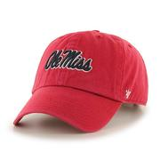 YTH RED OM CLEAN UP CAP RED