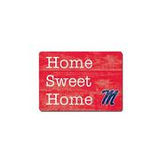 SWEET HOME 3X4 WOOD MAGNET