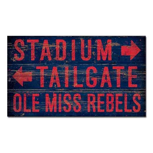 The Stadium 14x24 Wood Sign