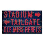 THE STADIUM 14X24 WOOD SIGN