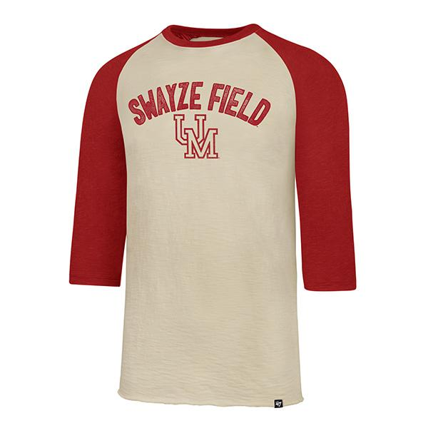 Ole Miss Scrum Raglan Tee