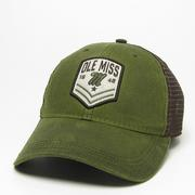 CHEVRON WAXED COTTON TRUCKER