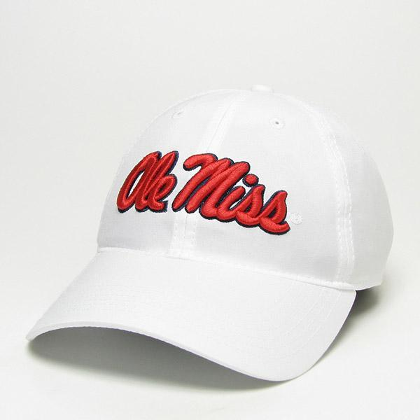 White Cool Fit Adjustable Cap