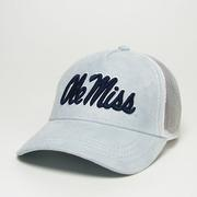 POWDER BLUE SUEDE MODA TRUCKER