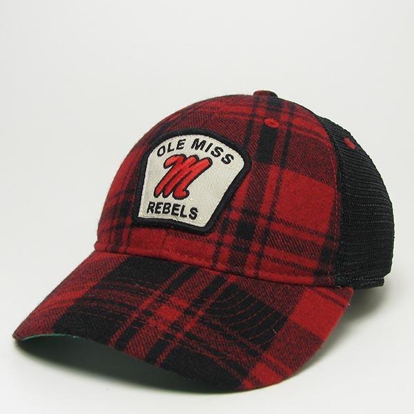 Buffalo Plaid Wool Flannel Cap