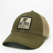 OLIVE OLD FAVORITE TRUCKER CAP