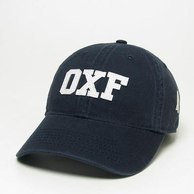 Navy Oxf Relaxed Twill Cap