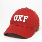 RED OXF RELAXED TWILL CAP RED