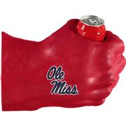 RED OLE MISS FAN FIST RED