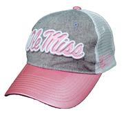 WMN OLE MISS SASHA TRUCKER CAP