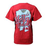 OLE MISS FOOTBALL PREP TEE