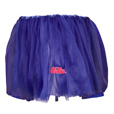 OLE MISS INFANT TUTU NAVY