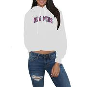 OM ASHLEY CROPPED HOODIE