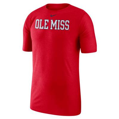SS OLE MISS PLAYER TOP RED
