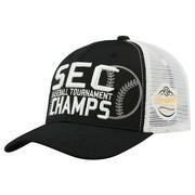 2018 SEC TOURNAMENT CHAMPS CAP BLACK