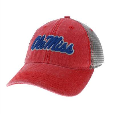 OLE MISS DASHBOARD TRUCKER CAP