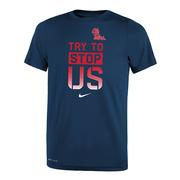 TRY TO STOP US LEGEND TEE