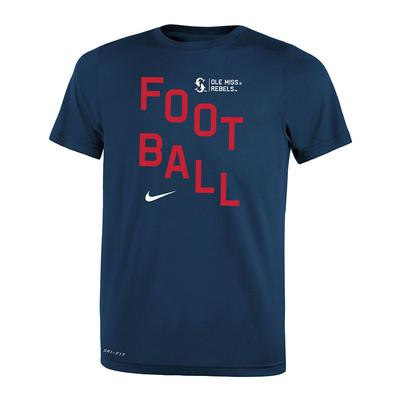 PRESCHOOL FOOTBALL LEGEND TEE NAVY