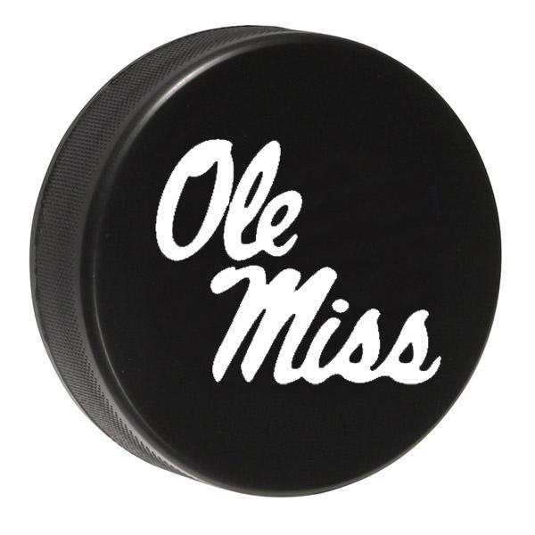 Ole Miss Hockey Puck