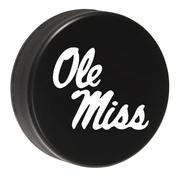 OLE MISS HOCKEY PUCK