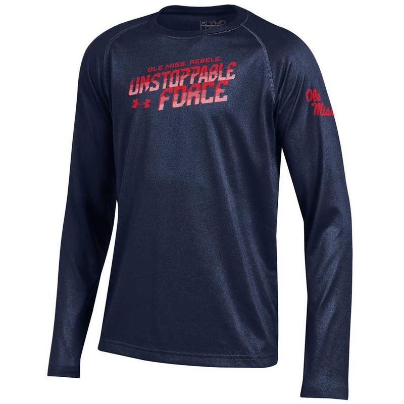 Yth Ls Unstoppable Tech Tee