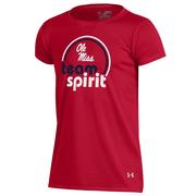 S17 GIRLS TEAM SPIRIT TECH TEE
