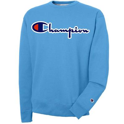 CHAMPION LOGO FLEECE CREW