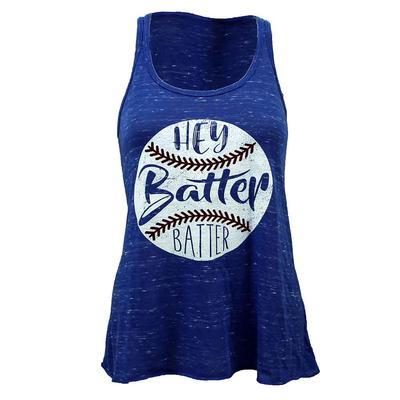 Hey Batter Batter Flowy Tank