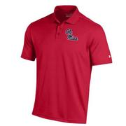 BOYS PERFORMANCE POLO RED