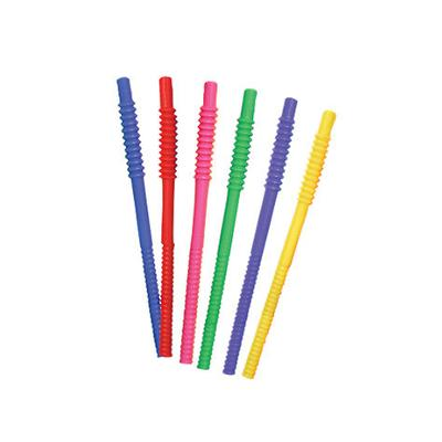 11 INCH FLEXIBLE STRAWS ASSORTED