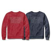 LS PHYS ED OLE MISS REBELS TEE