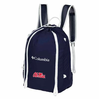 OLE MISS SILVER FALLS CINCH PACK NAVY