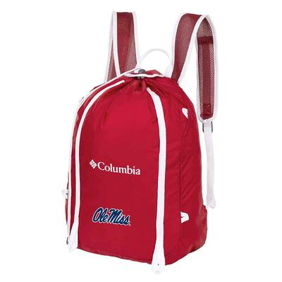 OLE MISS SILVER FALLS CINCH PACK RED_VELVET