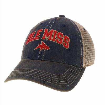 OLE MISS LANDSHARK OLD FAV CAP
