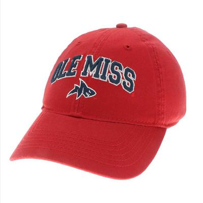 OLE MISS LANDSHARK RELAXED TWILL CAP