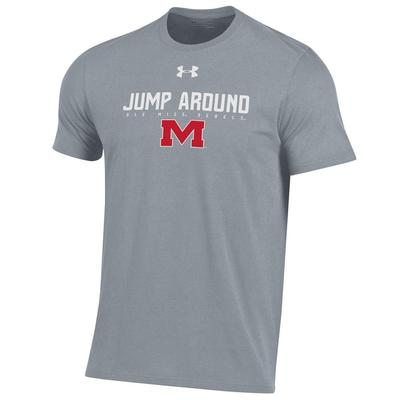 JUMP AROUND PERFORMANCE COTTON TEE