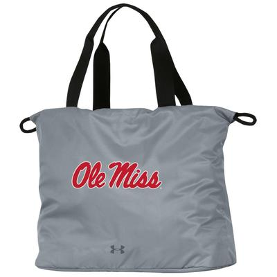 OLE MISS ON THE RUN CINCH TOTE