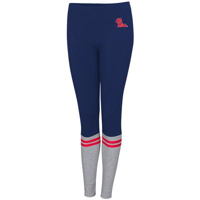 OLE MISS FROM THE HEART LEGGING