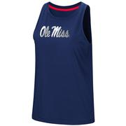 OLE MISS BET ON ME MUSCLE TANK