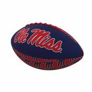 OLE MISS REPEATING MINI FOOTBALL